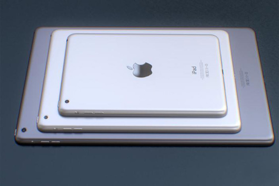 Apple iPad Pro, rendering