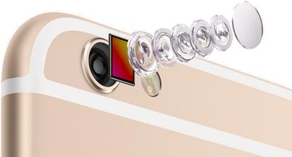iPhone 6, modulo fotografico