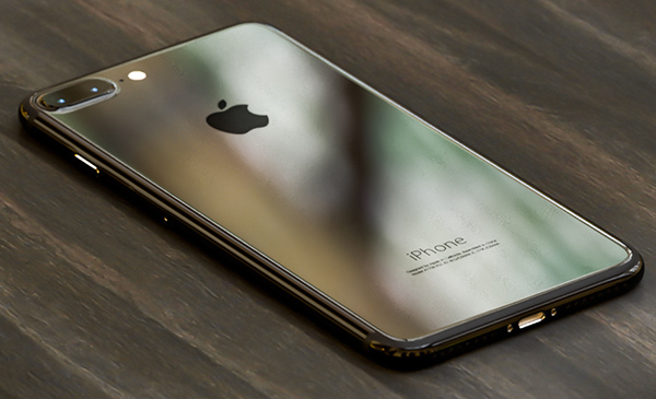 iPhone 7, Piano Black render