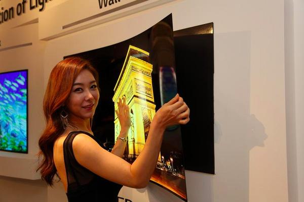 LG televisore OLED da 1mm