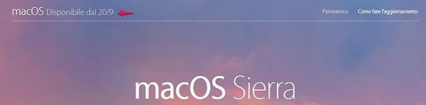 Mac OS X Sierra