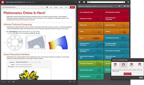 una schermata del sito è molto complicata, è possibile eseguire qualsiasi calcolo complesso per esempio con la matematica trigonometrica