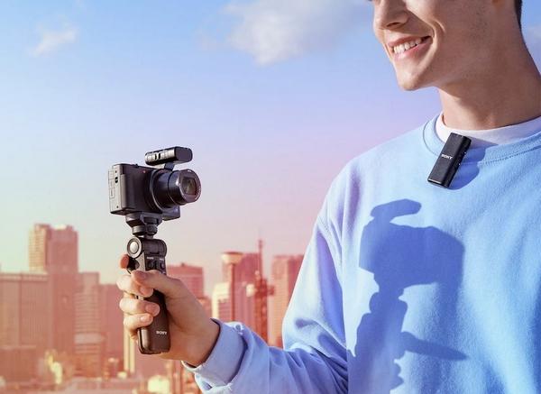 sony microfoni fotocamere