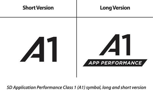microSD A1 App Performance Class 1