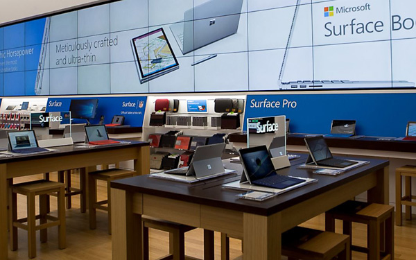 Microsoft Store a New York, 5th Avenue