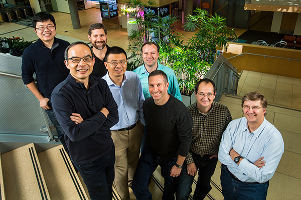 Microsoft, gruppo di ricercatori del team Speech & Dialog