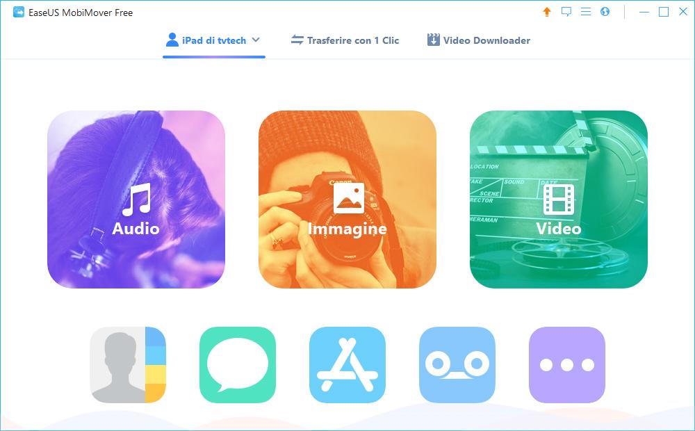 migliore app per trasferire foto da iphone a ipad