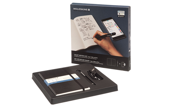 Moleskine: lo Smart Writing Set che digitalizza gli appunti presi su carta