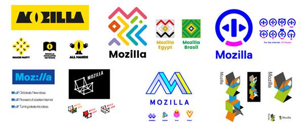 Mozilla, scelte per il nuovo logo