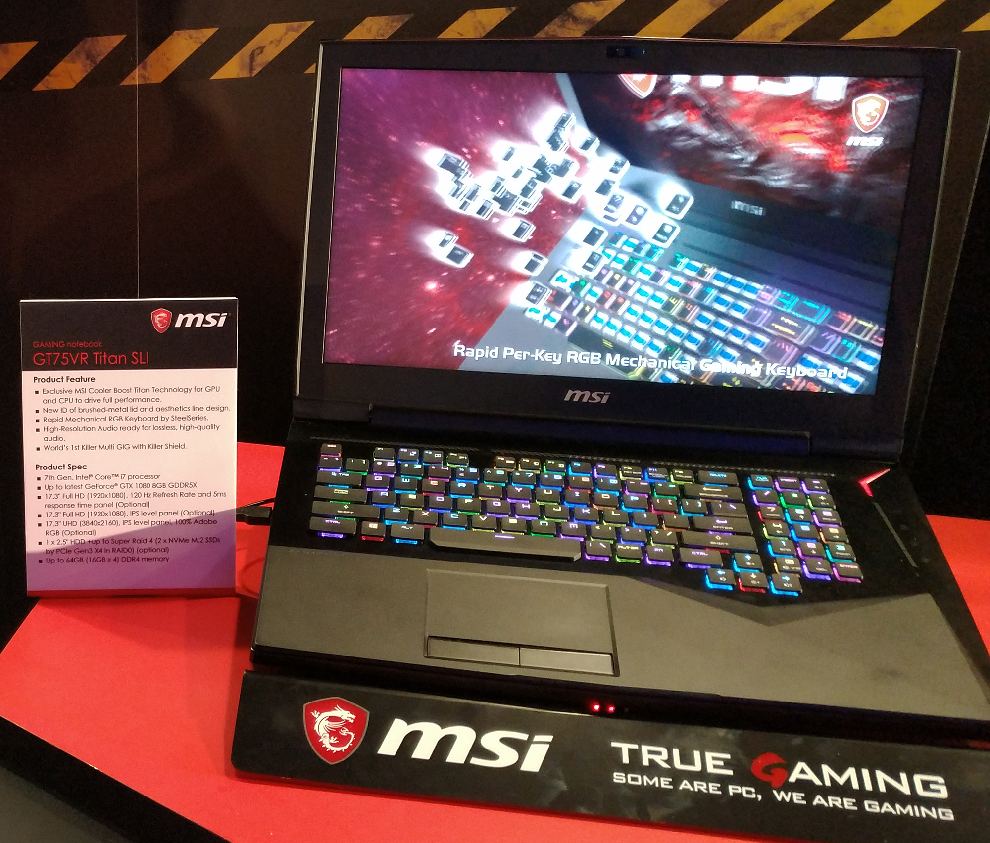 Computex: MSI lancia 3 nuovi notebook da gaming con monitor a 120Hz