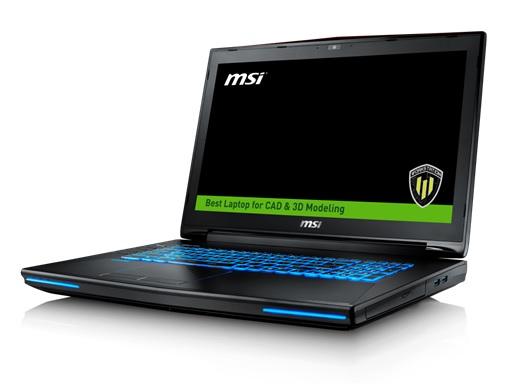 MSI Workstation WT72