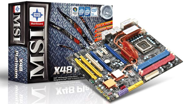 MSI X48 Platinum al debutto