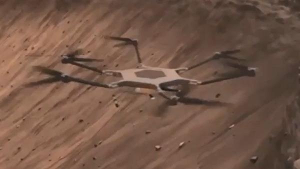 nasa droni