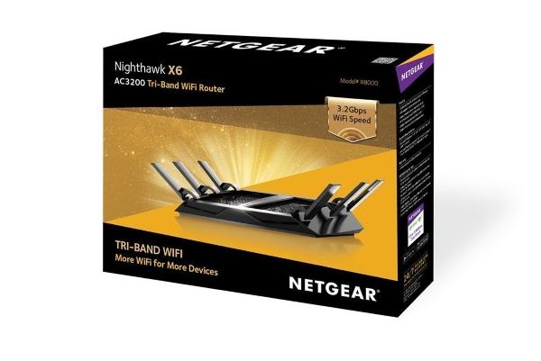 Netgear R8000 Nighthawk X6 AC3200