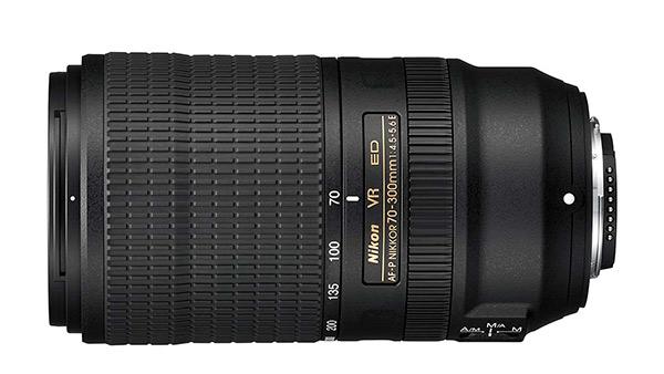 Nuovo AF-P Nikkor 70-300mm F4.5-5.6E ED VR