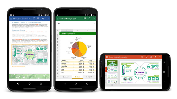 Microsoft Office per smartphone Android