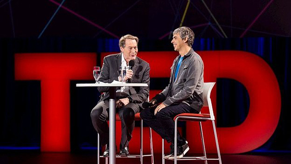 Larry Page, intervista al TED2014 in Vancouver