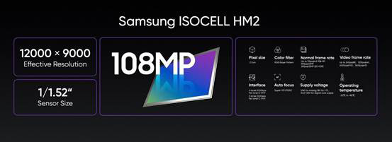 realme 8 pro sensore samsung 108 MP