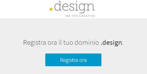 miglior prezzo dominio .design