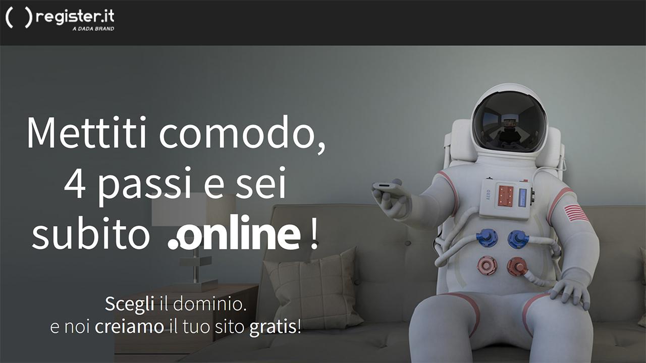Dominio .online gratis