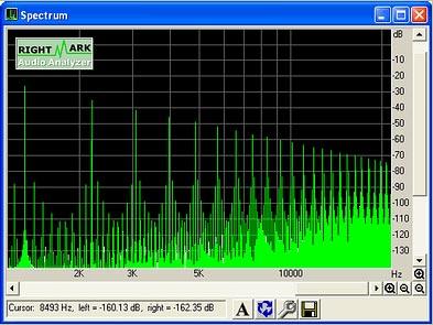Analizzatore spettro audio pc