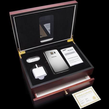 Samsung Galaxy S6 Platinum Goldgenie