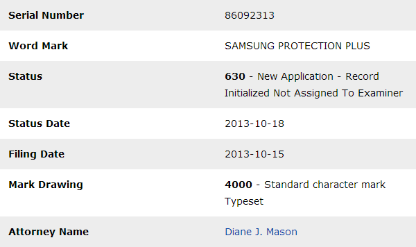 Samsung Protection Plus
