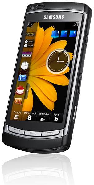 Samsung, nuovi cellulari omnia hd e ultra-touch