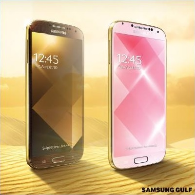 Samsung Galaxy S4 Gold Edition