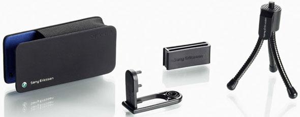 Sony Ericsson: il treppiede per il telefonino