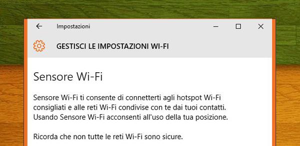 Sensore WiFi