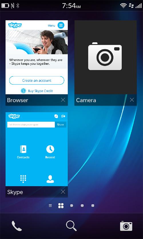 can i skype on my blackberry z10