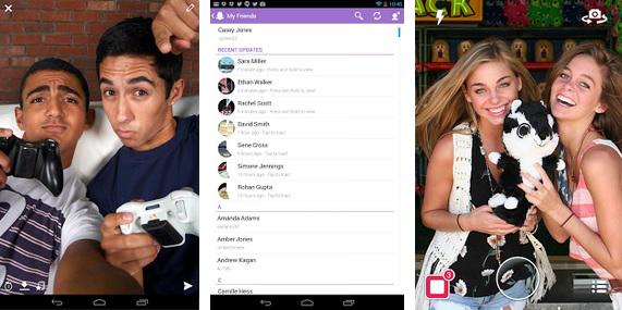 Snapchat, Android