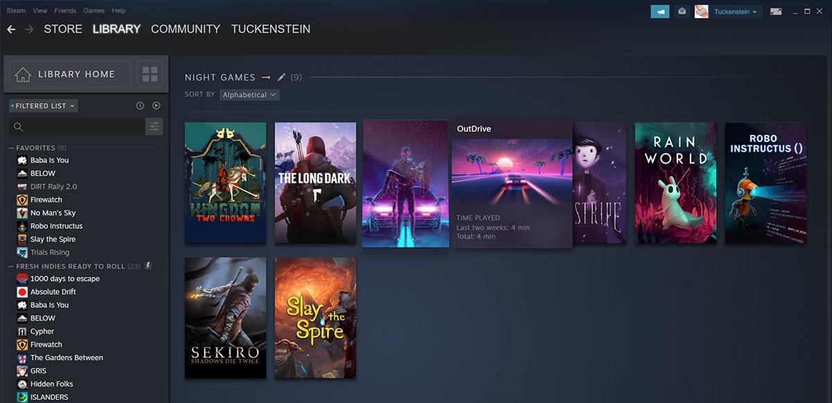 Steam nuova Libreria