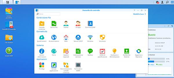 Synology DiskStation DS216, installazione sistema operativo