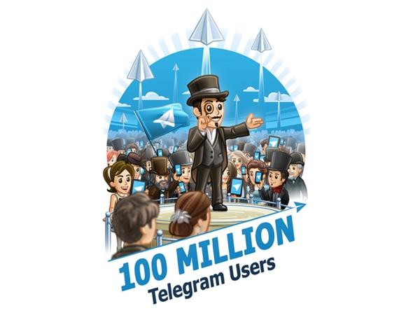 Telegram 100 milioni utenti