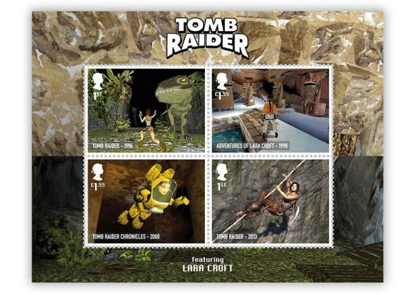 tomb raider lara croft royal mail