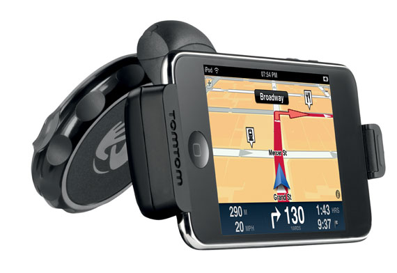 tomtom ipod touch