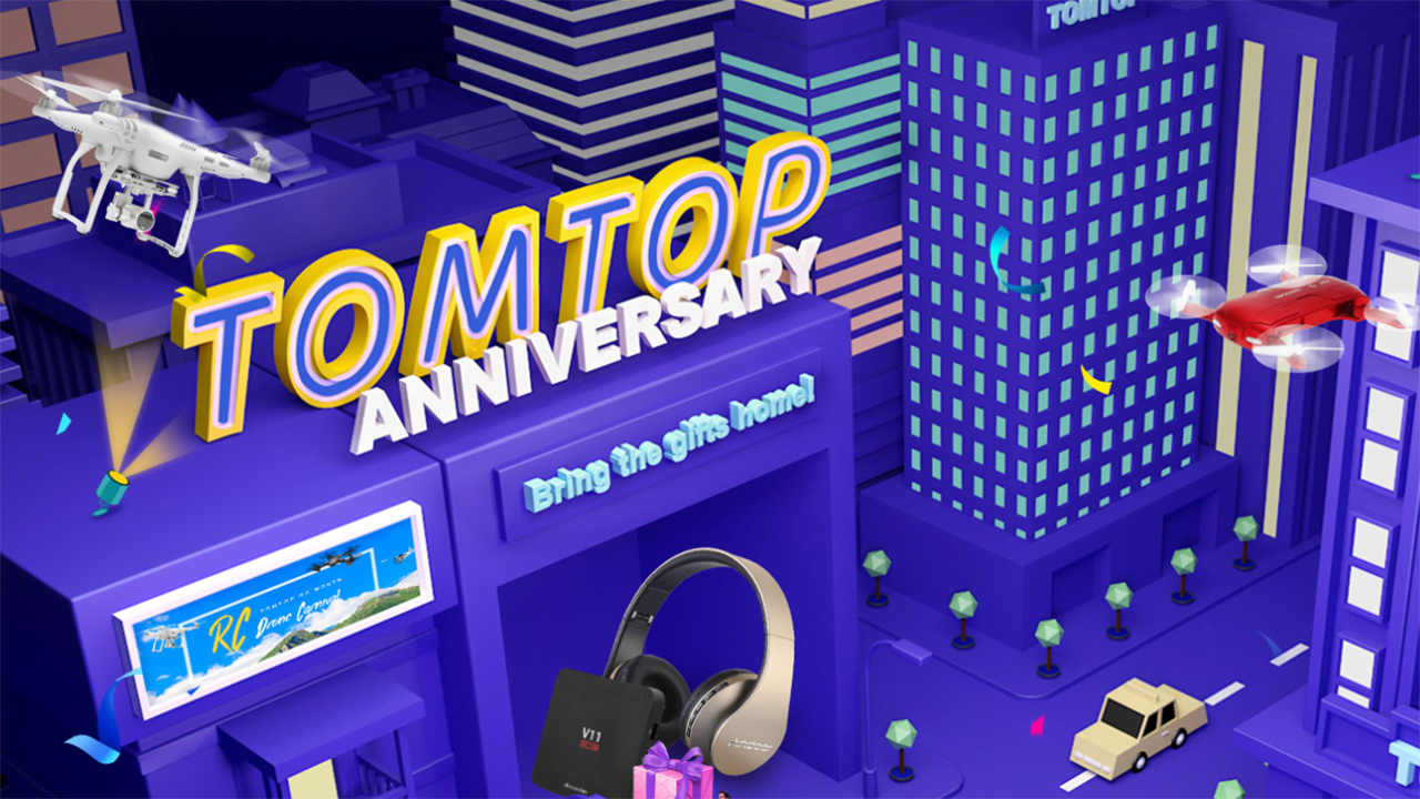 TomTop Anniversary