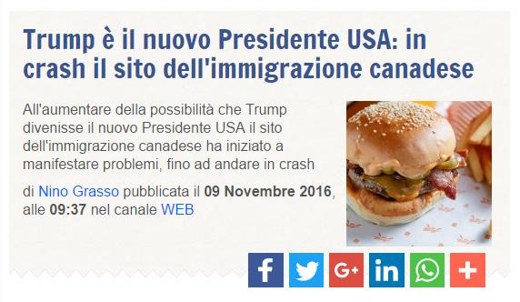 Trump, hamburger