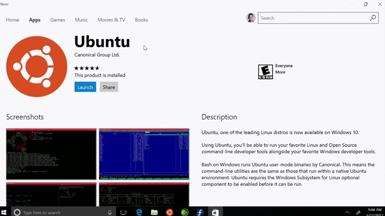 Ubuntu, Suse e Fedora arrivano su Windows 10 STORE