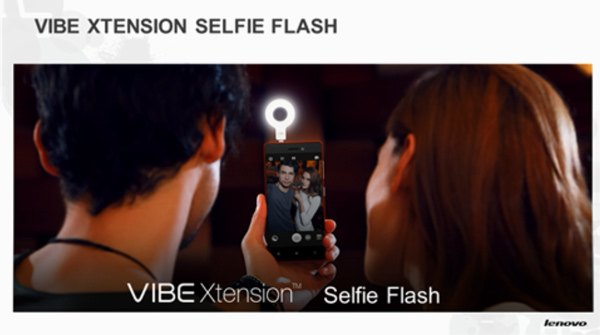Vibe Xtension Selfie Flash