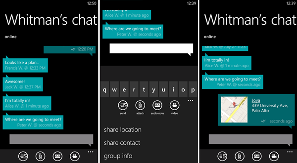 WhatsApp su Windows Phone Store