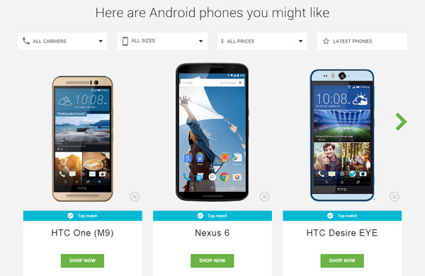 Google, quale smartphone Android comprare