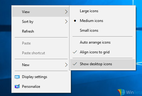 Windows 10, menu contestuali più scuri