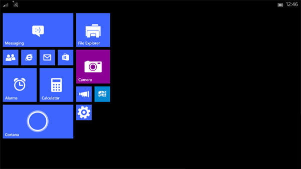 Windows 10 per tablet di piccole dimensioni