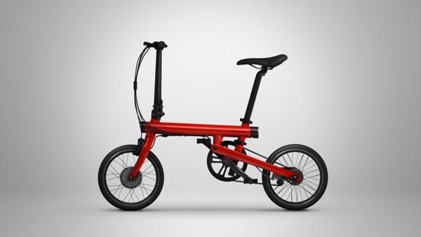 Xiaomi QiCycle è una bici elettrica pieghevole collegata allo smartphone