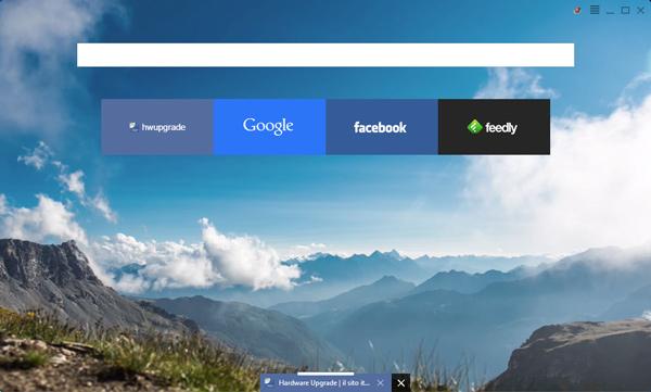 Anche Yandex propone il suo browser web con interfaccia
